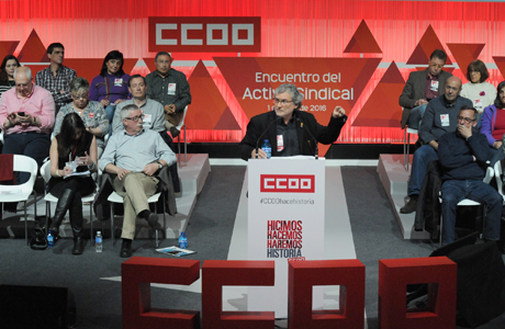 Fernando Lecano interviene en el acto sindical del 1 de abril